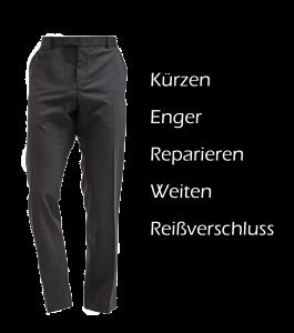Anzughose Kürzen, Anzughose Enger,Anzughose Weiten, Anzughose Reparieren, Anzughose zu weit, Anzughose zu groß