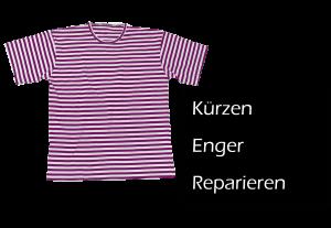 T-Shirt Kürzen, T-Shirt Enger oder T-Shirt Reparieren