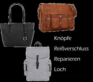 Tasche / Rucksack reparieren, Reißverschluss reparieren, Loch flicken