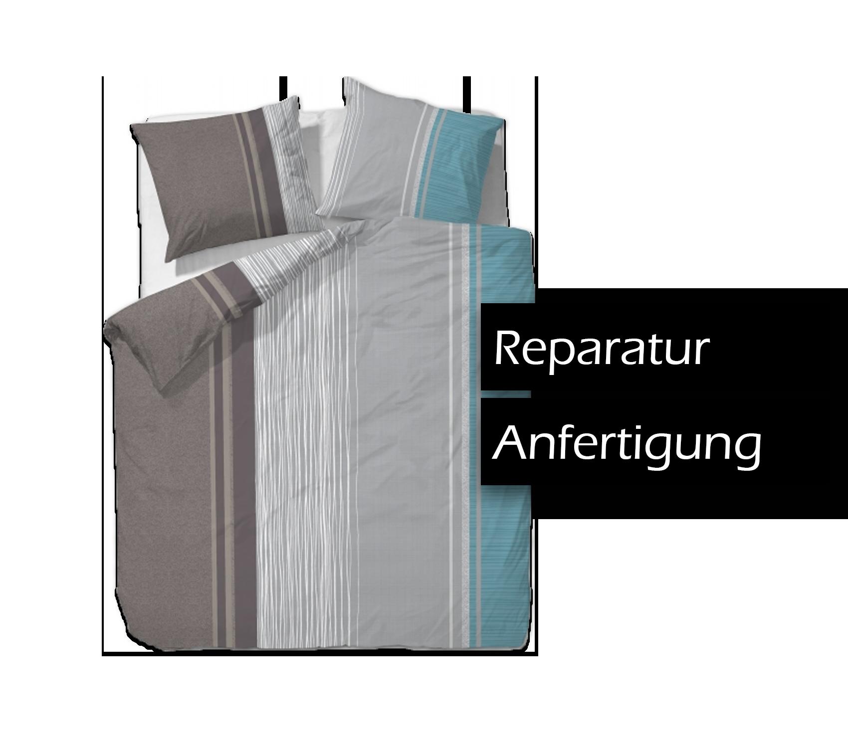 Bettwäsche Reißverschluss reparieren